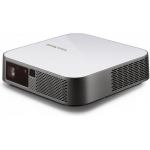 Viewsonic M2e data projector Desktop projector 400 ANSI lumens LED 1080p (1920x1080) 3D Grey, White
