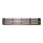 StarTech.com 48 Port 2U Rackmount Cat5e 110 Patch Panel 2U patch panel