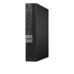 DELL OptiPlex 7050m 2.5GHz i5-6500T 1.2L sized PC Black Mini PC