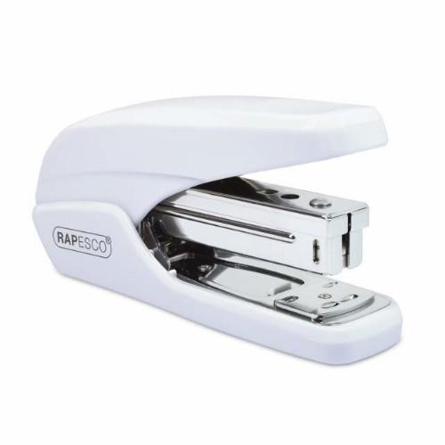 Rapesco X5-25ps White Flat clinch