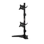 "Amer AMR2SV 24"" Freestanding Black flat panel desk mount"