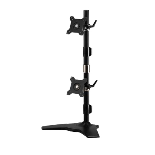 Dual Monitor Mount Vertical Stand