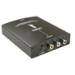 Lindy 38093 cable interface/gender adapter HDMI S-Video, 3xRCA Black