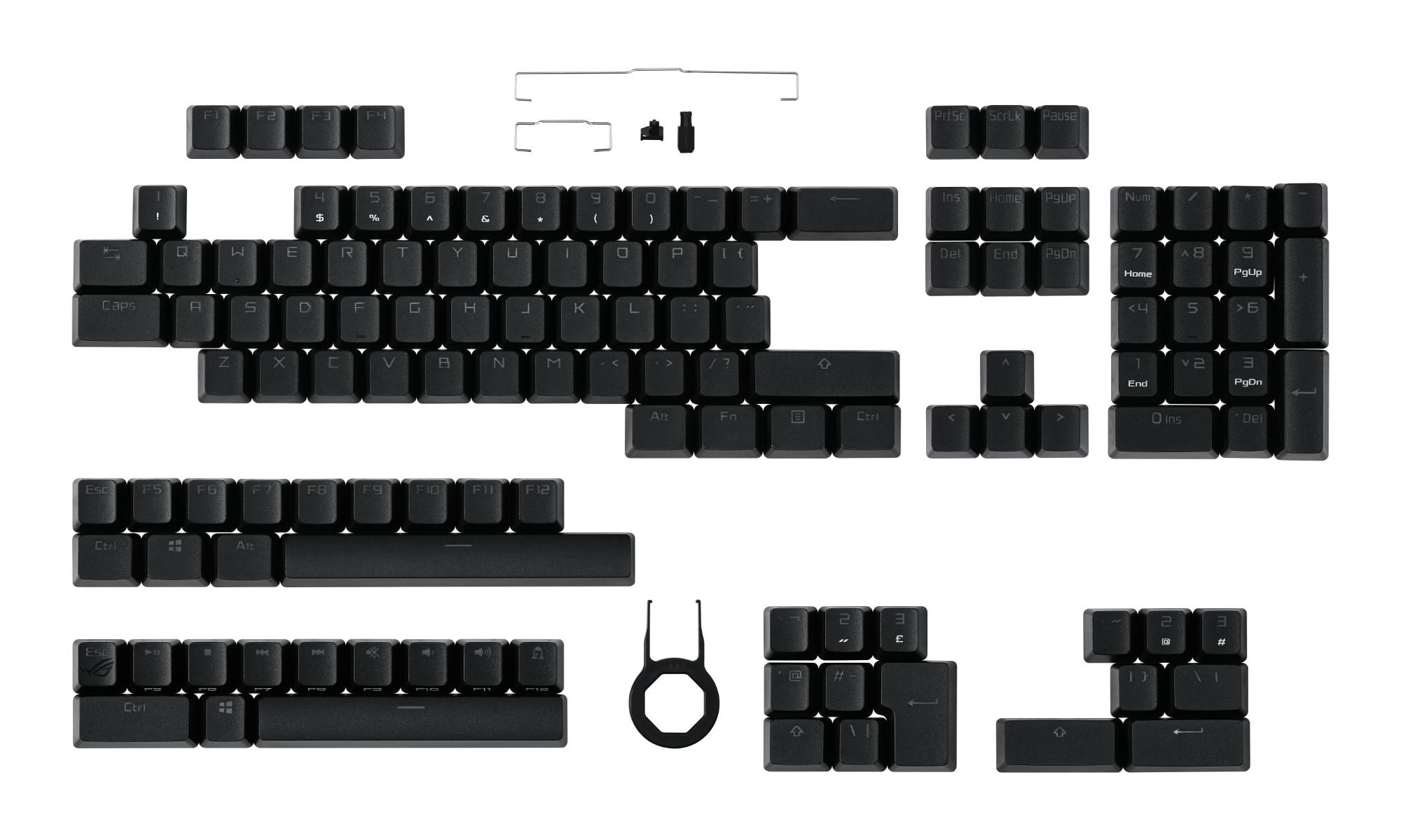 ASUS ROG PBT Keycap Set (AC03) Keyboard cap