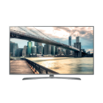 "LG 49UJ670V 49"" 4K Ultra HD Smart TV Wi-Fi Black, Silver LED TV"
