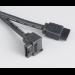 Akasa 1.0m SATA3 1m SATA III SATA III Black SATA cable