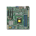 Supermicro X11SSH-LN4F Intel C236 Socket H4 (LGA 1151) Micro ATX server/workstation motherboard