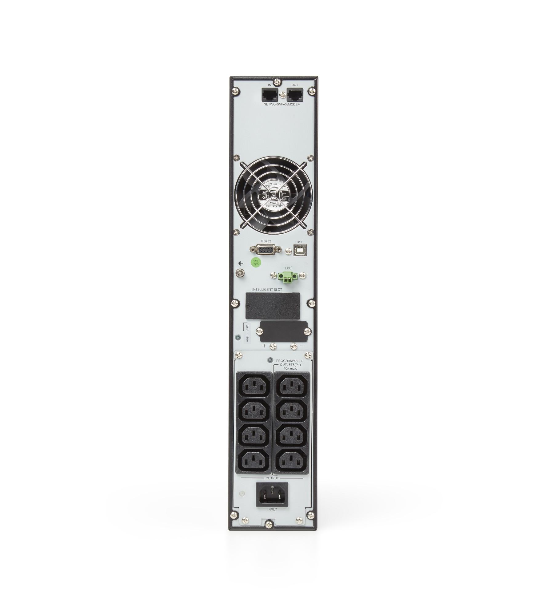 UPS Slc-1500-twin Rt2 1500va/1500w 8 X Iec C13 Online Black