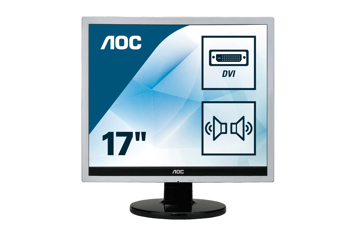 Monitor LCD 17in E719sda 1280x1024@75hz 1000:1 250cd/m2 D-sub/DVI-d 5ms