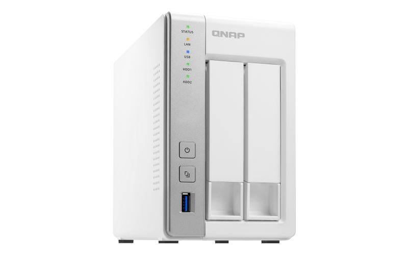 QNAP TS-231P2 Ethernet LAN Tower Grey,White NAS
