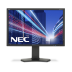 "NEC MultiSync P242W 24.1"" Full HD IPS Black Flat computer monitor"