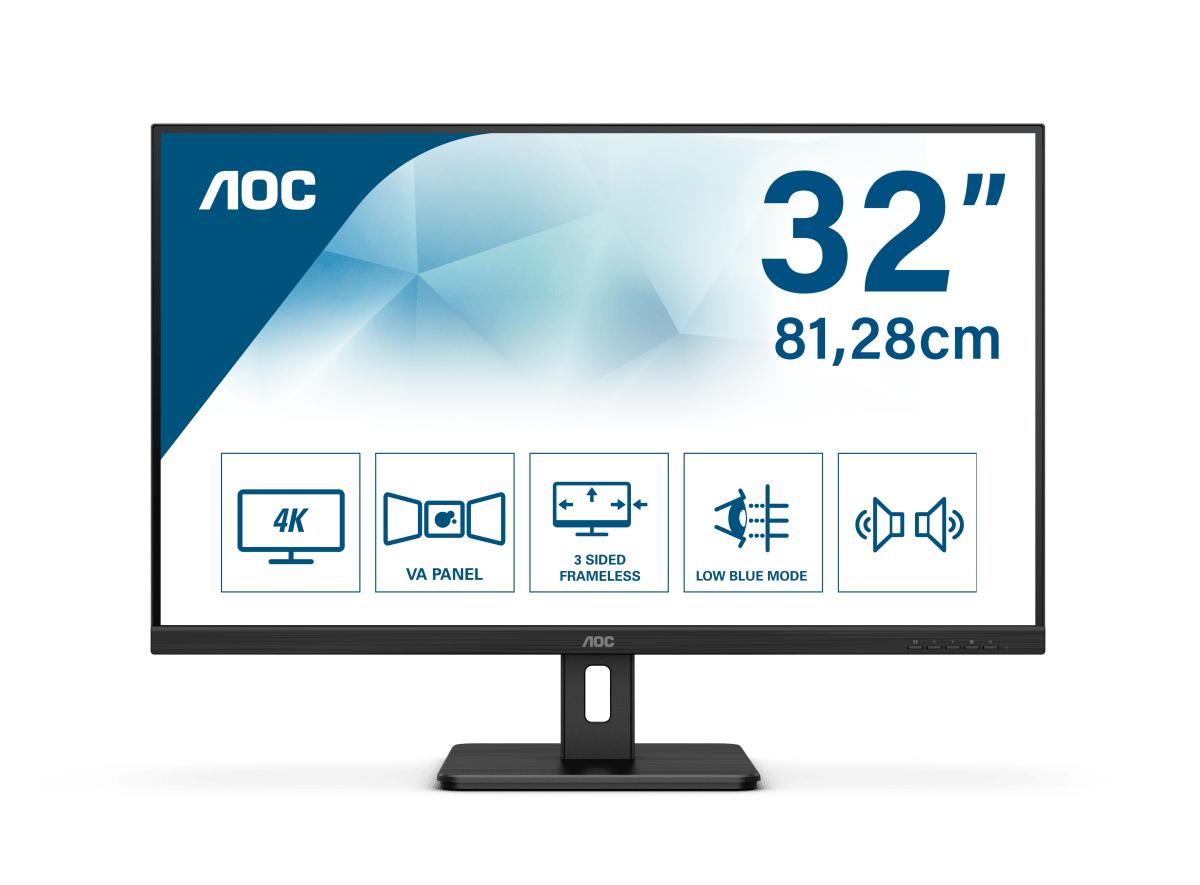AOC Essential-line U32E2N LED display 80 cm (31.5