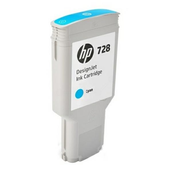 HP F9K17A (728) Ink cartridge cyan, 300ml