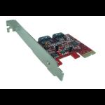 Shintaro PCIE V2.0  SATA3 6Gbps x 2 Port (LP & FH brackets included)