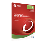 TREND MICRO Trend Micro Internet Security 2017 (1-3 Devices) 12mth Add-On