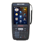 "Honeywell Dolphin 7800 3.5"" Touchscreen Black handheld mobile computer"