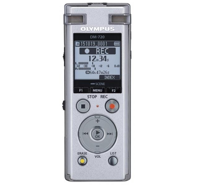 Olympus DM-720 + ME-30 + CS150 + E39 Internal memory Black dictaphone