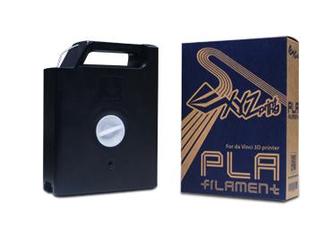 XYZprinting RFPLAXEU07B Polylactic acid (PLA) Black 600 g