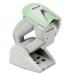 Datalogic Gryphon GM4102 Lector de códigos de barras portátil 1D Verde, Blanco