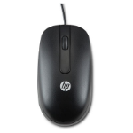 HP USB 1000dpi Laser Mouse USB Laser 1000DPI Ambidextrous Black mice