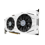 ASUS DUAL-GTX1060-6G graphics card GeForce GTX 1060 6 GB GDDR5