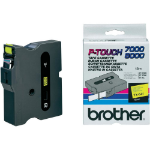 Brother TX-641 cinta para impresora de etiquetas Negro sobre amarillo