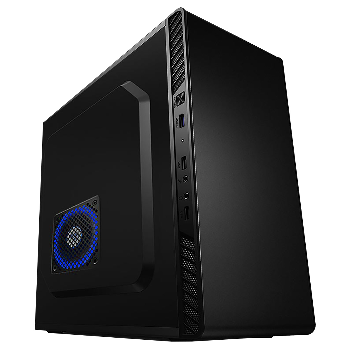 CIT Zinc Black mATX Midi Tower Case