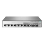 Hewlett Packard Enterprise OfficeConnect 1850 6XGT & 2XGT/SPF+ Managed L2 Gigabit Ethernet (10/100/1000) Grey 1U