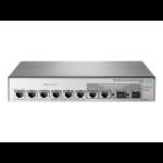Hewlett Packard Enterprise OfficeConnect 1850 6XGT & 2XGT/SPF+ Managed L2 Gigabit Ethernet (10/100/1000) Grijs 1U