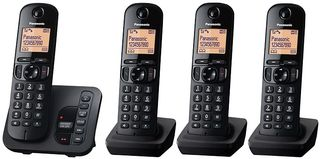 Panasonic KX-TGC224EB Quad Cordless Phone