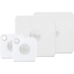 Tile Mate + Slim 4-Pack Bluetooth White