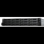 Synology RX1217RP disk array 72 TB Rack (2U) Black, Grey