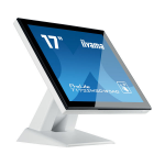"iiyama ProLite T1732MSC-W5AG touch screen monitor 43.2 cm (17"") 1280 x 1024 pixels Multi-touch White"