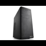 Deepcool Wave V2 Micro-ATX PC Case 390x217x435mm, 0.5mm Thick Black Panels, GPU Up To 320mm, 1xUSB3/2xUSB2