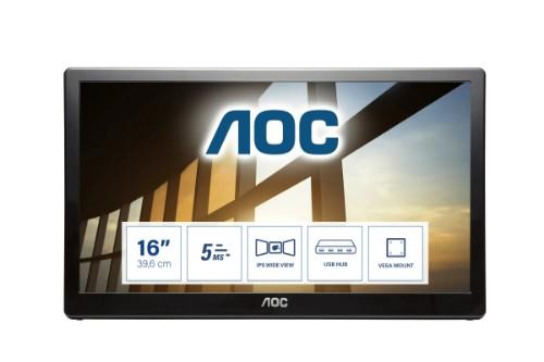 AOC 59 Series I1659FWUX computer monitor 39.6 cm (15.6