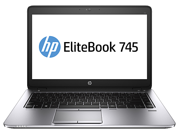 "HP EliteBook 745 G2 2.1GHz A10-7350B 14"" 1600 x 900pixels Black,Silver Notebook"