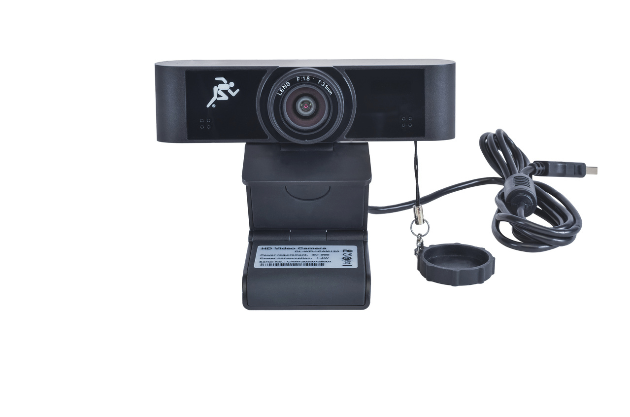 Liberty DL-WFH-CAM120 webcam 1920 x 1080 pixels USB 2.0 Black
