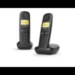 Gigaset A270 Duo DECT-telefoon Zwart Nummerherkenning