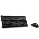 RAPOO Wired Optical Mouse & Keyboard Combo BLACK Multimedia Keyboard/Full Size/Anti-oxidation sealed membr