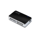 Digitus DA-70322-1 card reader Black,Silver USB 2.0