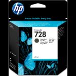 HP 728 69-ml Matte Black DesignJet Ink Cartridge Origineel Mat Zwart