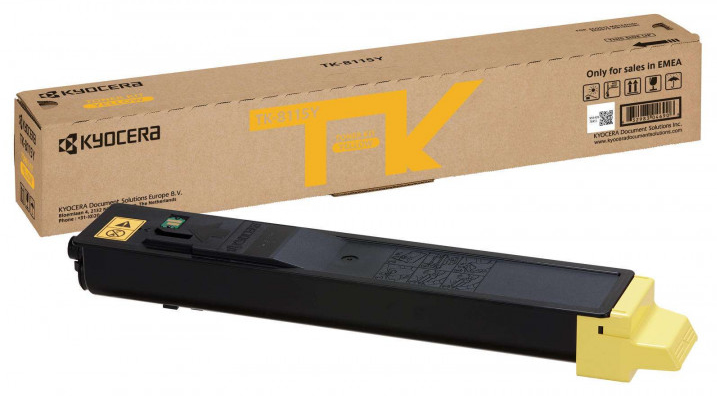 KYOCERA 1T02P3ANL0 (TK-8115 Y) Toner yellow, 6K pages