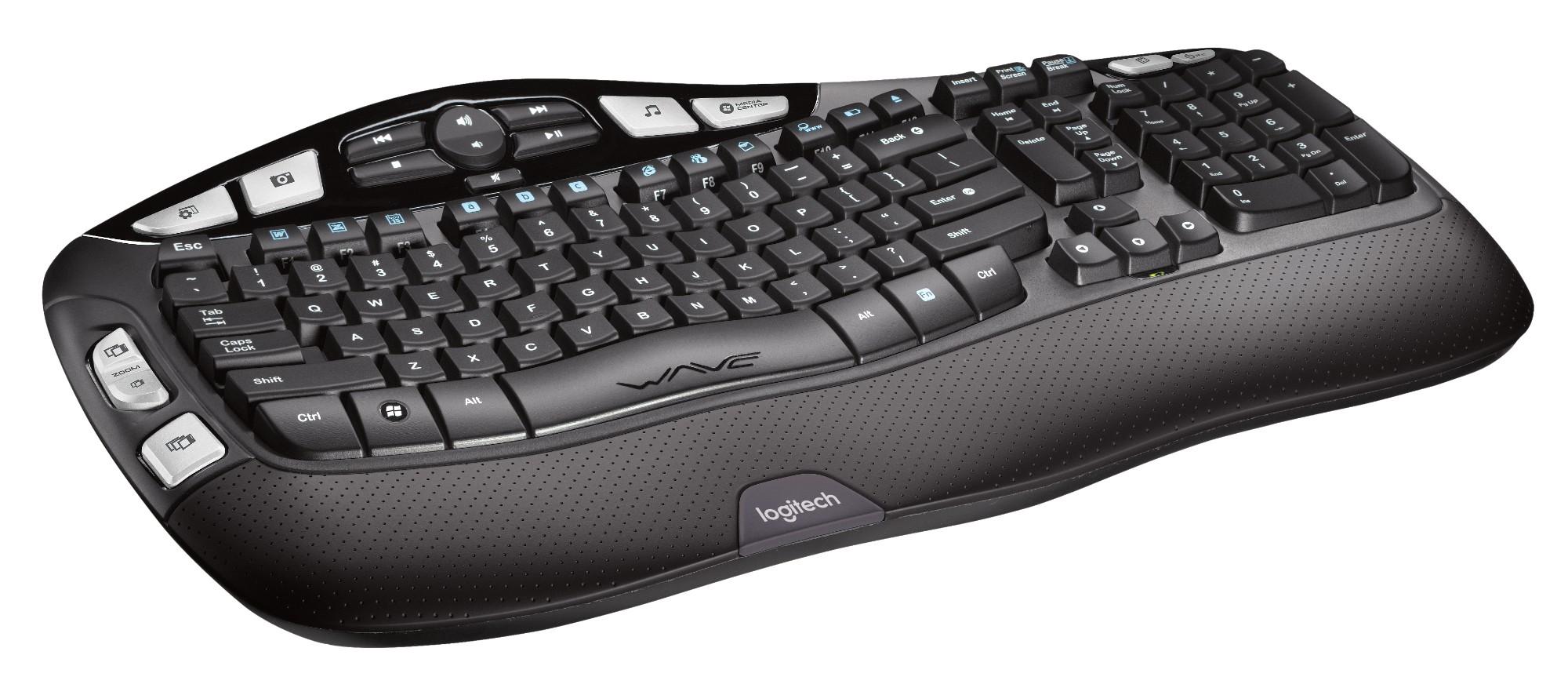 logitech wireless keyboard k350 rf wireless azerty french black rh transparent uk com Logitech Wireless Wave Combo MK550 logitech wireless keyboard k350 user manual