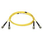 "Black Box EFN310-003M-STSC fiber optic cable 118.1"" (3 m) ST SC Yellow"