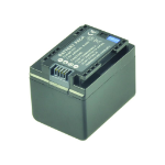 2-Power Camcorder Battery 3.6V 2400mAh