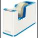 Leitz WOW Polystyrene Blue,Metallic tape dispenser
