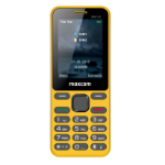 "MaxCom Classic MM136 6.1 cm (2.4"") 73 g Yellow Feature phone"