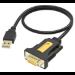 Vision TC-USBSER adaptador de cable USB-B 9-pin D-sub Negro