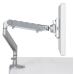 Keytools Humanscale M2 Monitor Arm with Clamp Mount; Silver Finish with Grey Trim. Up to 9Kg. The M2 uses an