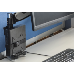 Digitus DA-90360 Clamp Black flat panel desk mount